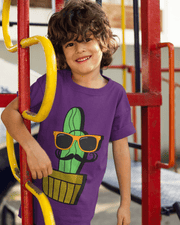 """Cactus #4"" T-shirt for Kids - Awesome, custom designed T-shirts & Art  