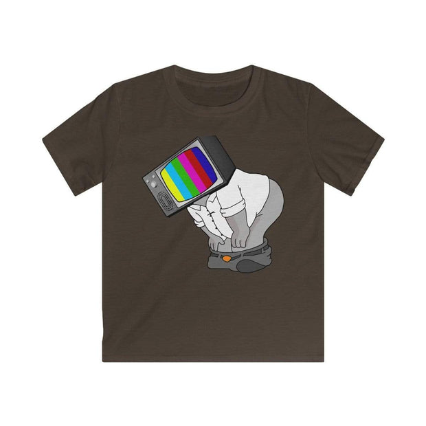 """Fart on TV"" T-shirt for Kids - Designs by Royi .B."