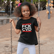 """FCK CVD"" T-shirt for Kids - Awesome, custom designed T-shirts & Art  