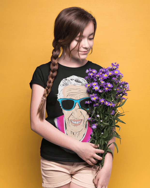 """Happy Grandma"" T-shirt for Kids - Awesome, custom designed T-shirts & Art  