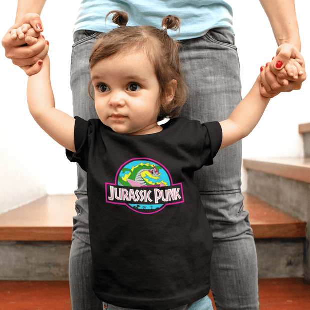 """Jurassic Punk"" Baby tee - Awesome, custom designed T-shirts & Art  
