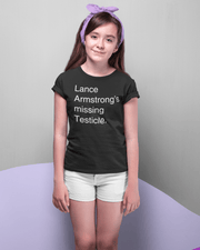 """Lance Armstrong"" T-shirt for Kids - Awesome, custom designed T-shirts & Art  