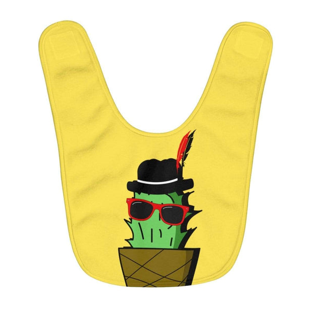 """Cactus #3"" Baby Bib - Awesome, custom designed T-shirts & Art  