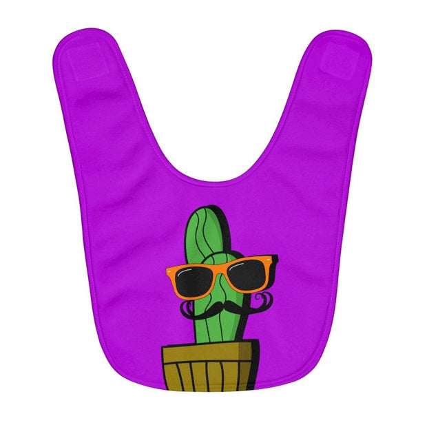 """Cactus #4"" Baby Bib - Awesome, custom designed T-shirts & Art  