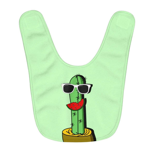 """Cactus #5"" Baby Bib - Awesome, custom designed T-shirts & Art  