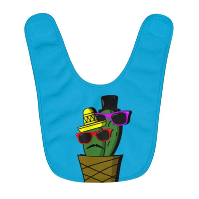 """Cactus #6"" Baby Bib - Awesome, custom designed T-shirts & Art  