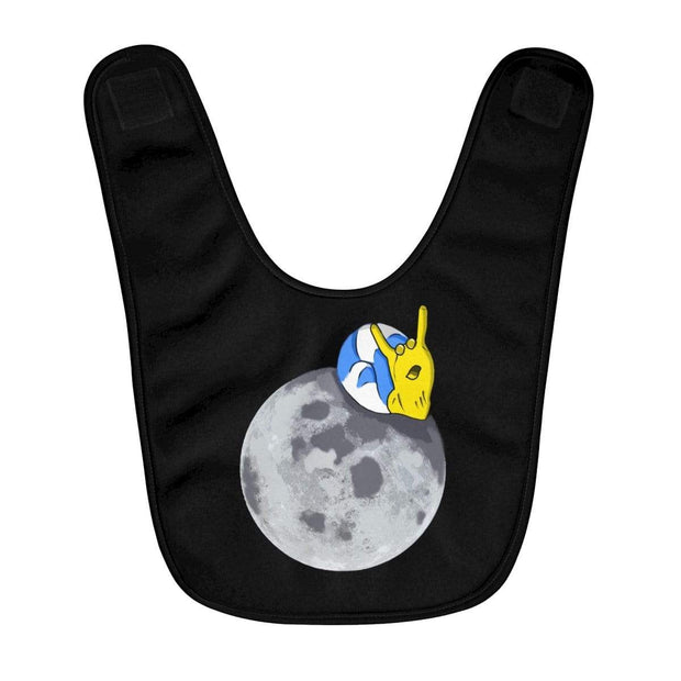"""The Snail"" Baby Bib - Awesome, custom designed T-shirts & Art  