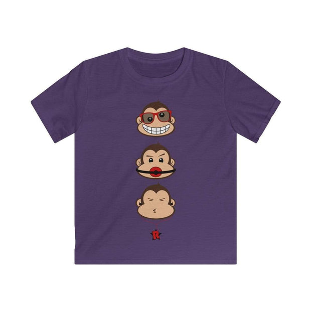 """The 3 Monkeys"" T-shirt for Kids - Awesome, custom designed T-shirts & Art  