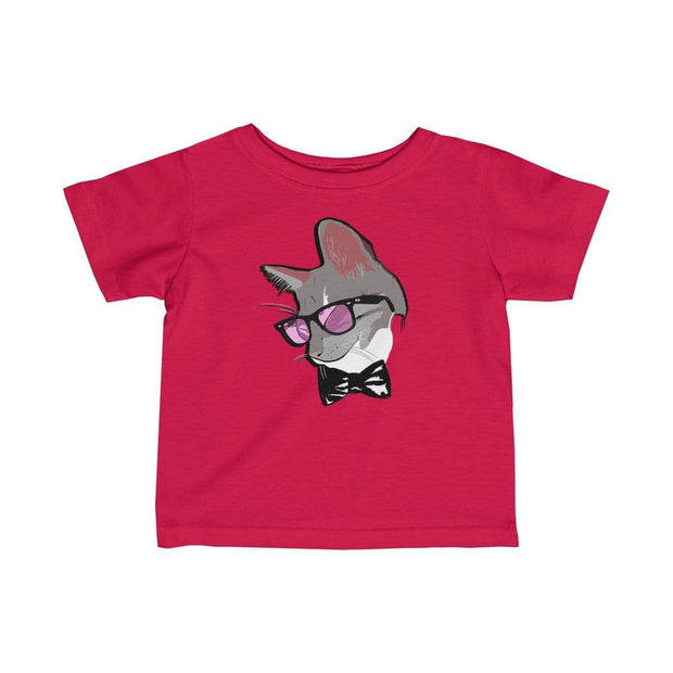 """The Stylist Cat"" Baby tee - Awesome, custom designed T-shirts & Art  