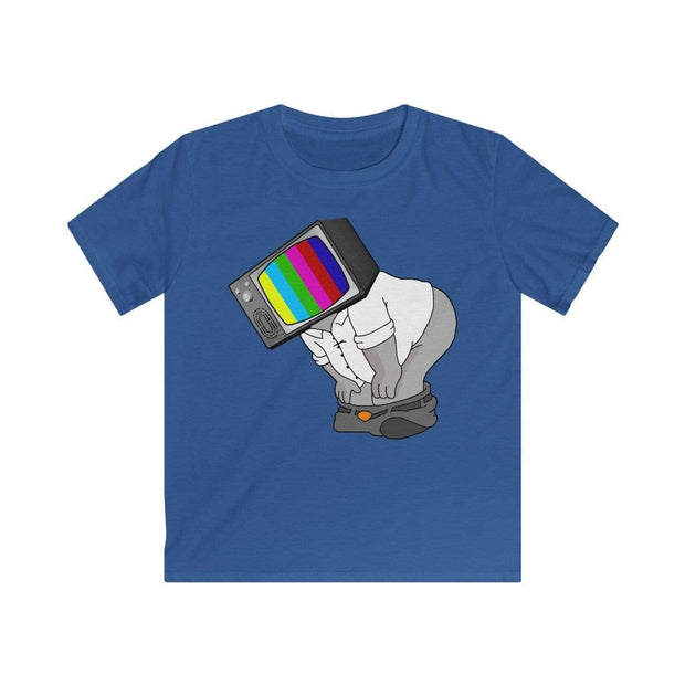 """Fart on TV"" T-shirt for Kids - Awesome, custom designed T-shirts & Art  