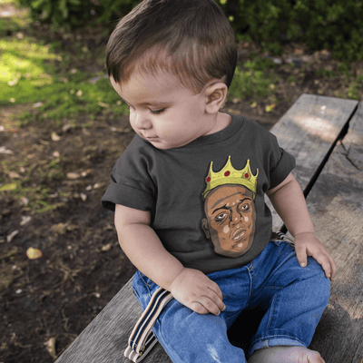 """The East Side King"" Baby tee - Awesome, custom designed T-shirts & Art  