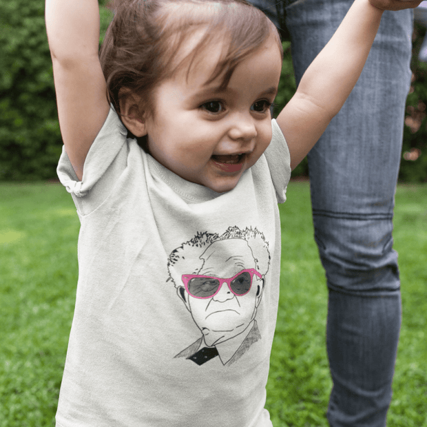 """The Optimist"" Baby tee - Awesome, custom designed T-shirts & Art  