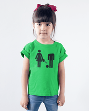 """WC Sign Gone Wrong"" T-shirt for Kids - Designs by Royi .B."
