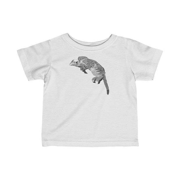 """Sleeping Cutie"" Baby tee - Awesome, custom designed T-shirts & Art  