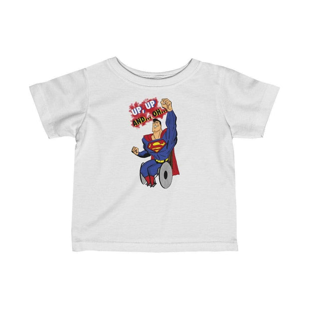 """Up Up"" Baby tee - Awesome, custom designed T-shirts & Art  