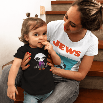 """Why So Serious"" Baby tee - Awesome, custom designed T-shirts & Art  