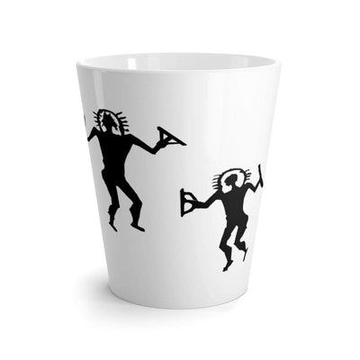 """Alien Cave Drawing"" Latte mug - Awesome, custom designed T-shirts & Art  