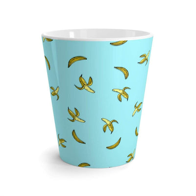 """Banana"" Blue Latte mug - Awesome, custom designed T-shirts & Art  