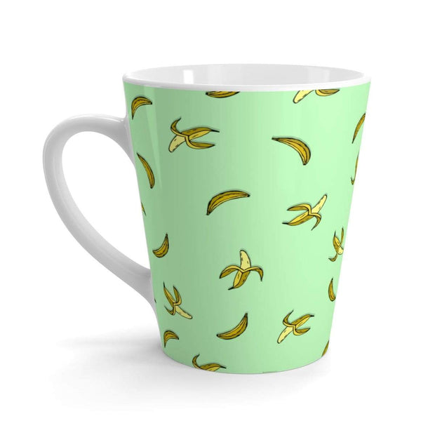 """Banana"" Green Latte mug - Awesome, custom designed T-shirts & Art  