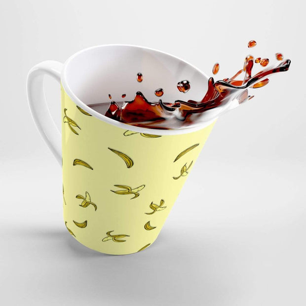 """Banana"" Yellow Latte mug - Awesome, custom designed T-shirts & Art  