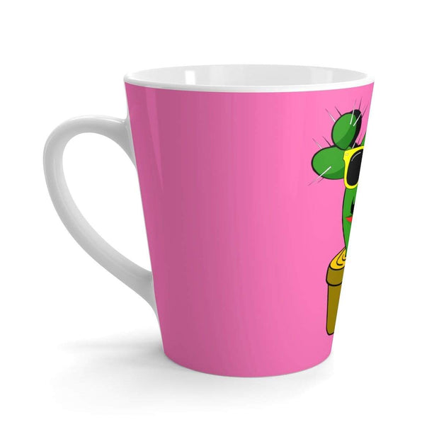 """Cactus #1"" Latte mug - Awesome, custom designed T-shirts & Art  