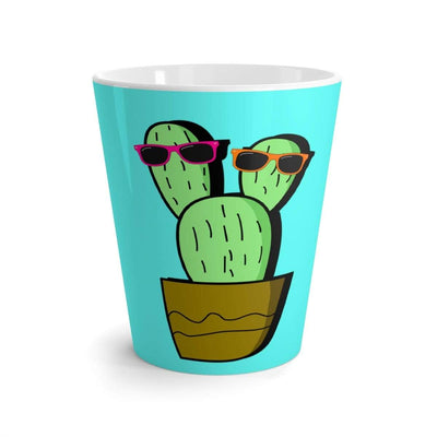 """Cactus #2"" Latte mug - Awesome, custom designed T-shirts & Art  
