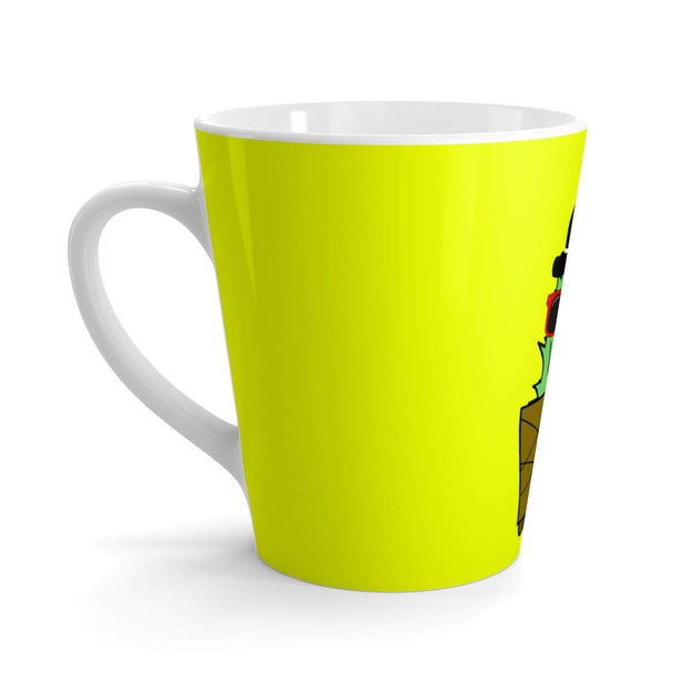 """Cactus #3"" Latte mug - Awesome, custom designed T-shirts & Art  