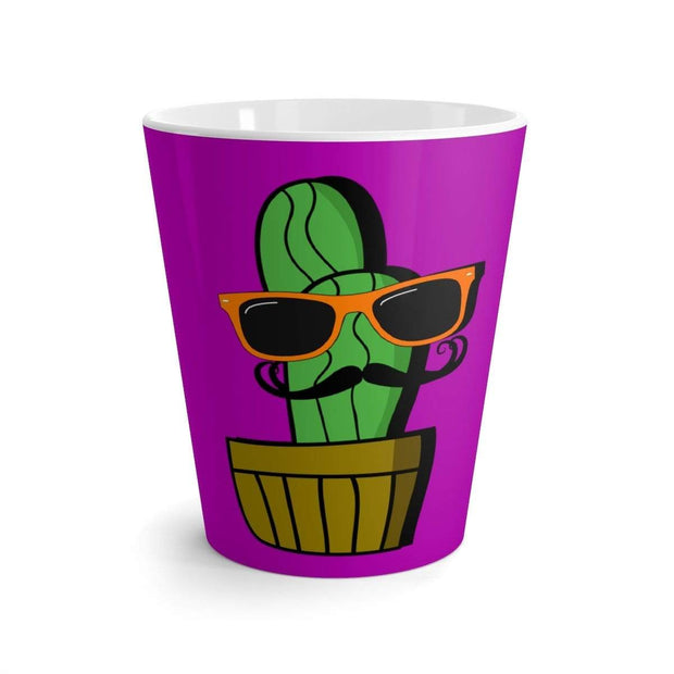 """Cactus #4"" Latte mug - Awesome, custom designed T-shirts & Art  