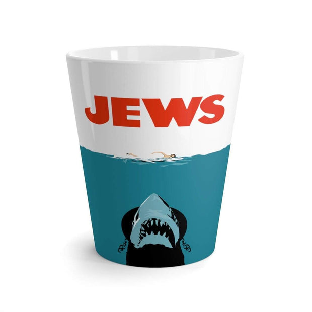 """Jews"" Latte mug - Designs by Royi .B."