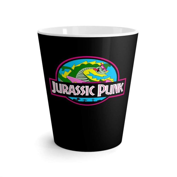 """Jurassic Punk"" Latte mug - Awesome, custom designed T-shirts & Art  