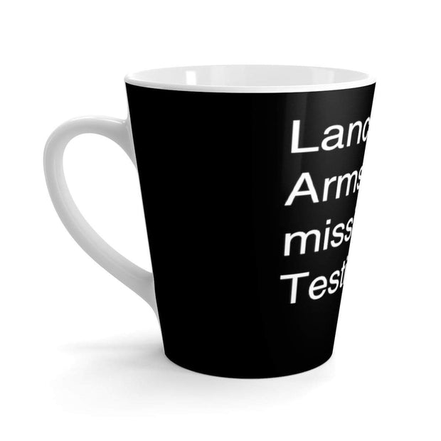 """Lance Armstrong"" Latte mug - Awesome, custom designed T-shirts & Art  