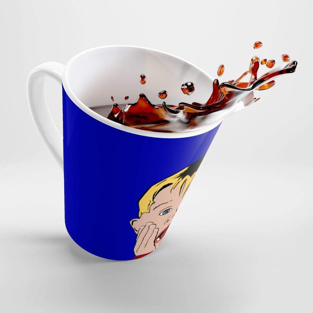 """Home Alone"" Latte mug - Designs by Royi .B."