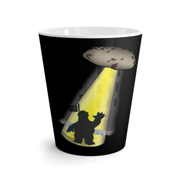 """Space Cookie"" Latte mug - Awesome, custom designed T-shirts & Art  