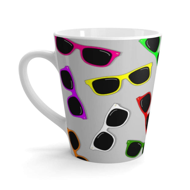 """Sunglasses in Color"" Latte mug - Awesome, custom designed T-shirts & Art  