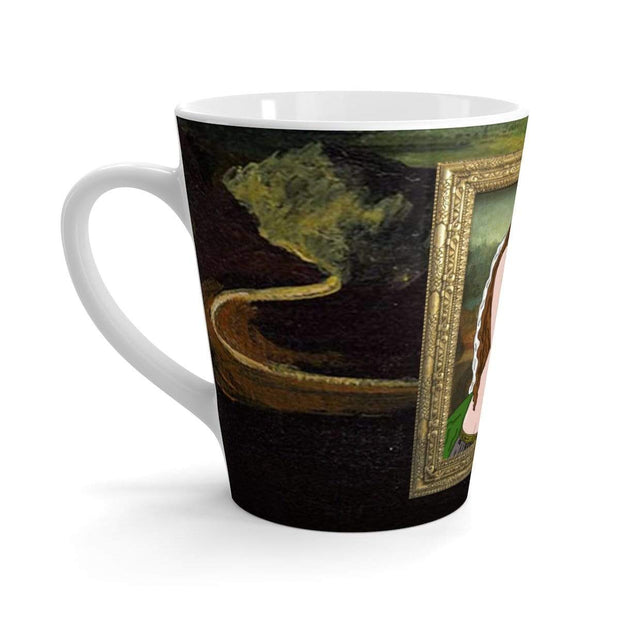 """The Best Drawing Ever"" Latte mug - Awesome, custom designed T-shirts & Art  
