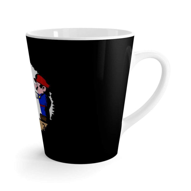 """The Fist Bump"" Latte mug - Awesome, custom designed T-shirts & Art  