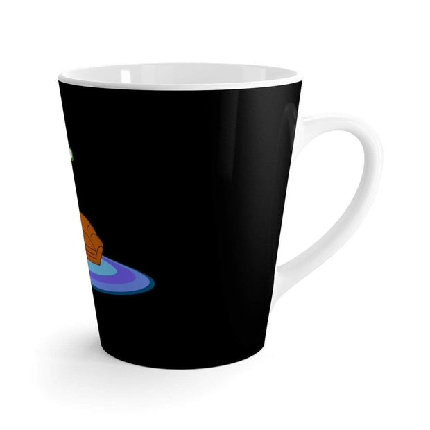 """The Happy Ending"" Black Latte mug - Awesome, custom designed T-shirts & Art  