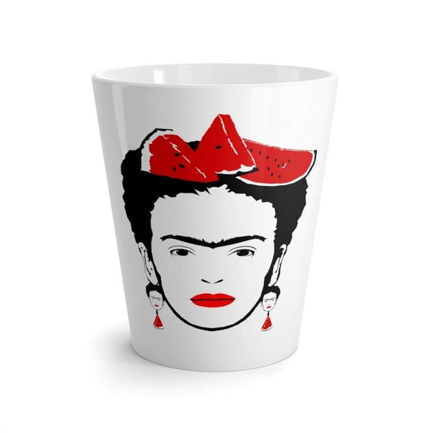 """Watermelon II"" Latte mug - Awesome, custom designed T-shirts & Art  