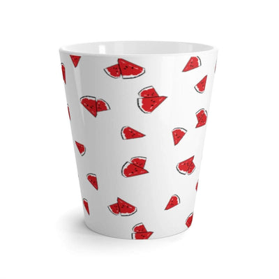"""Watermelon"" Latte mug - Awesome, custom designed T-shirts & Art  