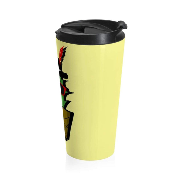 """Cactus #3"" Stainless Steel Travel Mug - Awesome, custom designed T-shirts & Art  