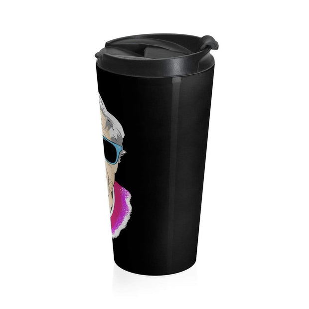 """Happy Grandma"" Stainless Steel Travel Mug - Awesome, custom designed T-shirts & Art  