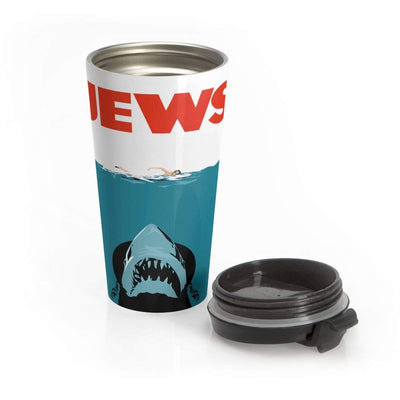 """Jews"" Stainless Steel Travel Mug - Awesome, custom designed T-shirts & Art  