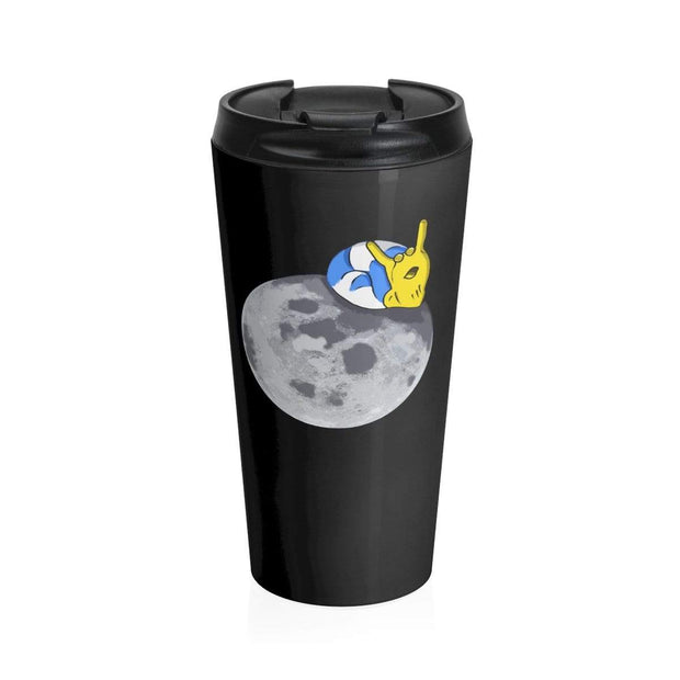 """The Snail"" Stainless Steel Travel Mug - Awesome, custom designed T-shirts & Art  