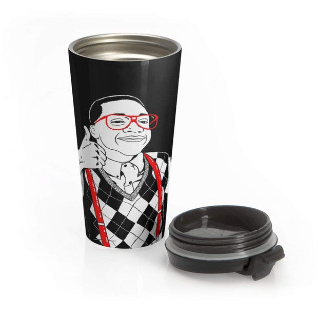 """Thumbs Up"" Stainless Steel Travel Mug - Awesome, custom designed T-shirts & Art  