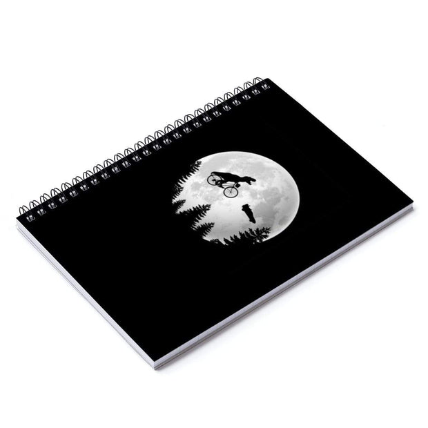 """A Spielberg Tribute"" Spiral Notebook - Ruled Line - Awesome, custom designed T-shirts & Art  