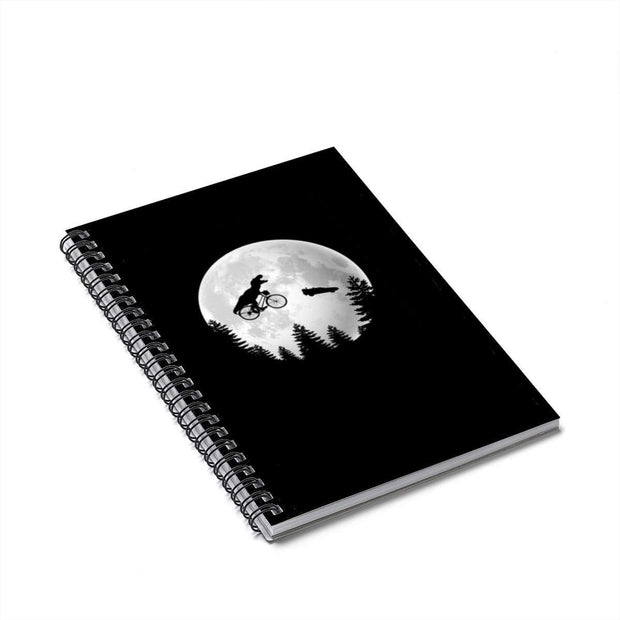 """A Spielberg Tribute"" Spiral Notebook - Ruled Line - Designs by Royi .B."
