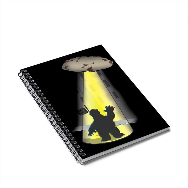 """Space Cookie"" Spiral Notebook - Ruled Line - Awesome, custom designed T-shirts & Art  