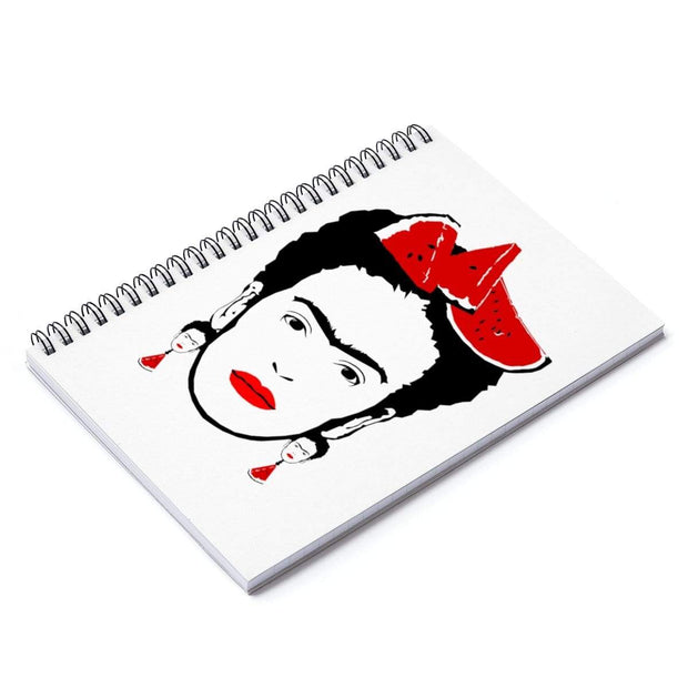 """Watermelon II"" Spiral Notebook - Ruled Line - Awesome, custom designed T-shirts & Art  
