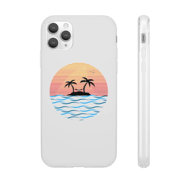 """Sunset"" Flexi Phone Case - Awesome, custom designed T-shirts & Art  