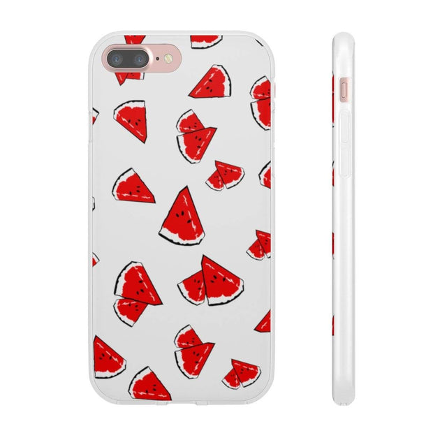"""Watermelon"" Flexi Phone Case - Awesome, custom designed T-shirts & Art  